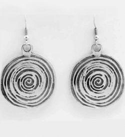 Wholesale spiral earrings