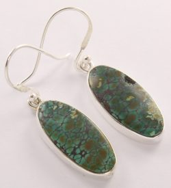 turquoise 925 silver earrings