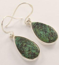 tibetan silver earrings