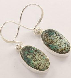 wholesale turquoise silver earrings