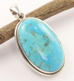 Sleeping beauty turquoise wholesale pendant