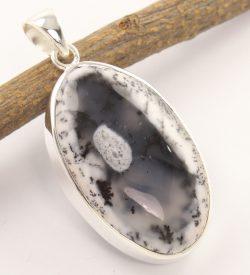 Dendritic agate gem jewelry